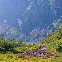 дорога к озеру :: зоя полянская