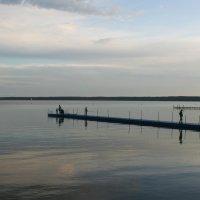 Закат на озере Нарочь :: Анастасия Шаронова