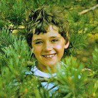 Возвращение в прошлое. Портрет сына (1978г.) :: Viacheslav