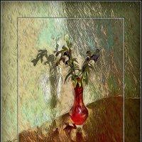Натюрморт с вазой... :: Алексей Лебедев