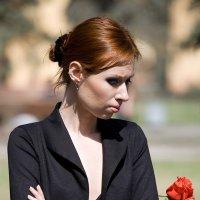 Катрин и роза :: Alexander Varykhanov