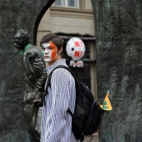 Зелено-бело-оранжевый :: BluesMaker