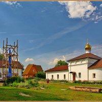 Успенский Лихвинский Гремячев женский монастырь :: Дмитрий Анцыферов