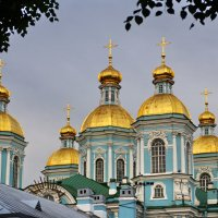 Купола Николо-Богоявленского морского собора :: Елена Назарова