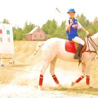 ..КОННОЕ ПОЛО или Спорт королей (репортаж) .. :: Арина Дмитриева
