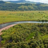 река Чулым :: зоя полянская