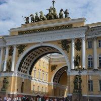Триумфальная арка Главного Штаба :: Александр Люликов