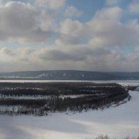 Волга зимой :: leoligra