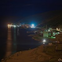 Морской порт в работе. :: Koch