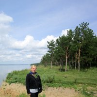 На берегу Обского моря . :: Мила Бовкун