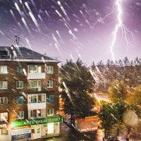 Дождик лил, гром гремел... кошка напугалась... :: Сергей Смоляков
