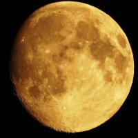 Деревенская луна. Перигей. :: Владимир Гилясев