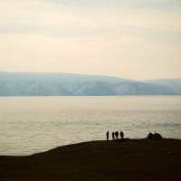 """Французские туристы на острове Ольхон. Из серии """"Байкал"""". :: Loui Funny"""