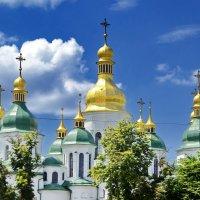 Купола Софии Киевской :: Сергей S.Tulpan