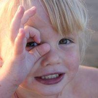 девочка на пляже :: Anna Palagina
