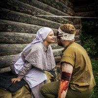 Целебный поцелуй. :: Андрей Ярославцев