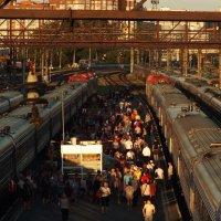 Железнодорожный вокзал :: Denis Sychev
