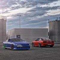 Nissan Silvia S13, S14 (борьба поколений) :: Владимир Головин