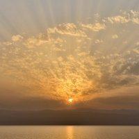 Закат на Мертвом море :: Алексей Романов