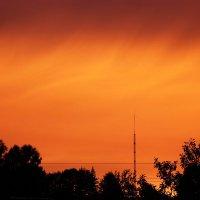 Пламенный закат :: Ариша Медведева