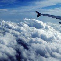 Под крылом самолёта... :: Евгений Малюга
