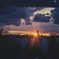 гроза и закат :: Arina Kekshoeva
