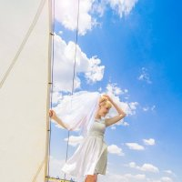 Невеста на яхте :: Анжелика Филимонова