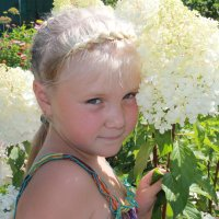 Фея цветов :: Полина Бесчастнова
