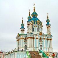 Киев- Андреевская церковь :: yuri Zaitsev