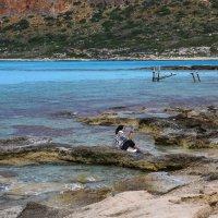 бухта балос греция крит :: юрий макаров