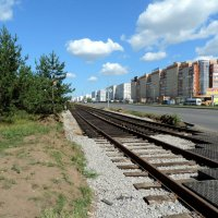 Прокладка трамвайной линии. :: bemam *
