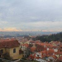 Прага с высока :: Анастасия Беланович