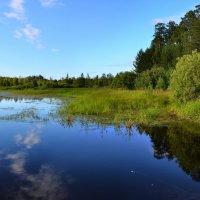 Черное озеро :: Евгений Грачев