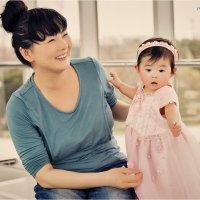 Мама и дочка :: Евгения Лысцова
