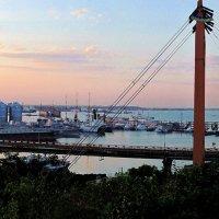 закат над портом :: Александр Корчемный