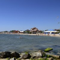 На пляже курорт-отель,, Артурс,, :: Татьяна Кретова