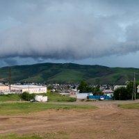 Странная туча над горой Муромихой. :: Дмитрий Каблов