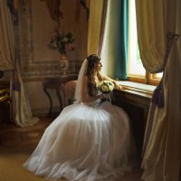 Невеста у окна :: Oksanka Kraft