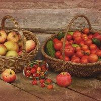 Фруктово - овощной,ягодный натюрморт. :: Елена Kазак