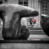У музея под дождём :: Александр Иванов