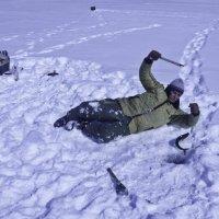 зачем ловить сидя? :: Petr Popov