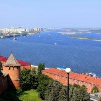 Волга.Нижний Новгород :: Юлия Гладких