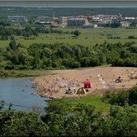 Первый сезон городского пляжа! :: Владимир Шошин