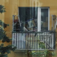 Из окна города П)) :: Лазарева Оксана