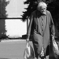 Нелегкая  ноша. :: Валерия  Полещикова