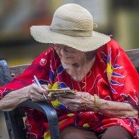 Записочка или сквозь века2- «из серии золотой возраст-бабушки бабульки... :: Shmual Hava Retro