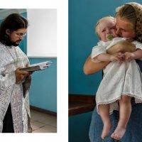 Крещение Степы :: Олеся (Лесика) Касьянова