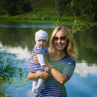 А у реки... :: Аня Ушакова
