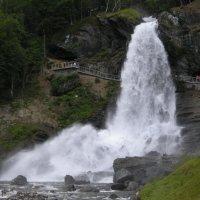 Водопад Стендальсфоссен :: Эльф ```````