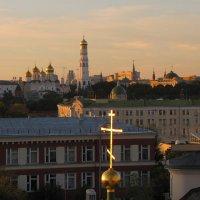 Москва на закате. :: Ирина Нафаня